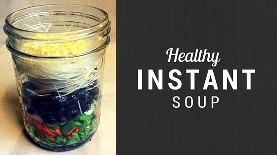 Healthy Instant Soup #vegan #glutenfree | DeniseMassieRHN.ca