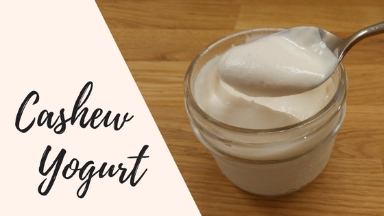 Homemade Cashew Yogurt Recipe - Easy to make with only 4 vegan ingredients. | DeniseMassieRHN.ca